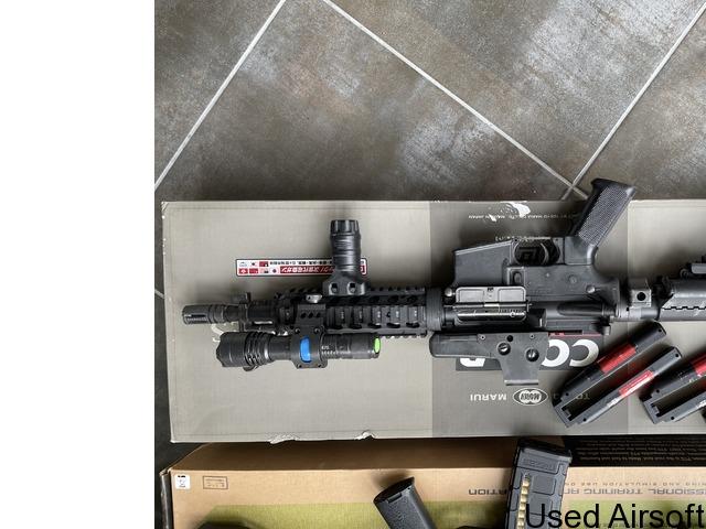 Tokyo Marui M4 CQB-R Recoil Shock - 1