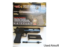 Cyber gun Desert Eagle CO2