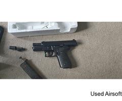 KJWORKS KP-02 GBB Sig 226 pistol