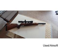 Airarms tx200 HC walnut