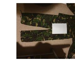 DPM Woodland combat shirt + trousers