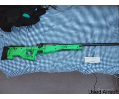 WELL MB01 WARRIOR MK3 L96 REPLICA SNIPER RIFLE IN GREEN