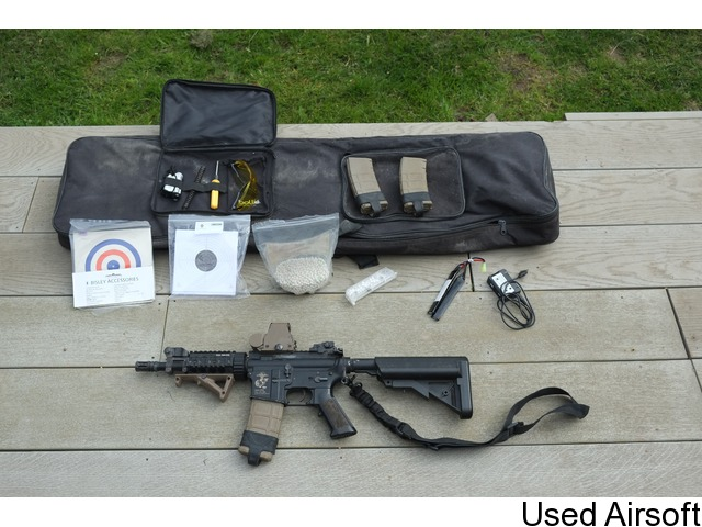 KM4-SR5 with Accessories and Rifle Bag (Used) - 1