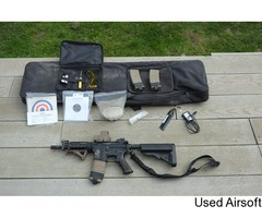 KM4-SR5 with Accessories and Rifle Bag (Used)