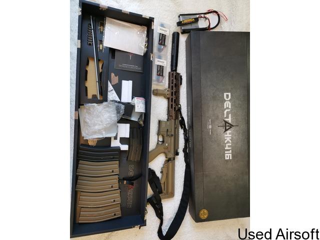 TM Delta HK416 recoil Tokio Marui - 1