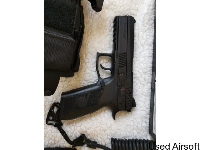 ASG CZ P-09 6mm Gas Blow Back Pistol - 1