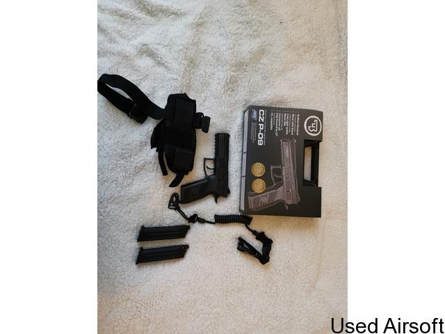 ASG CZ P-09 6mm Gas Blow Back Pistol - 2