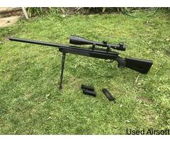ASG steyr sniper bundle