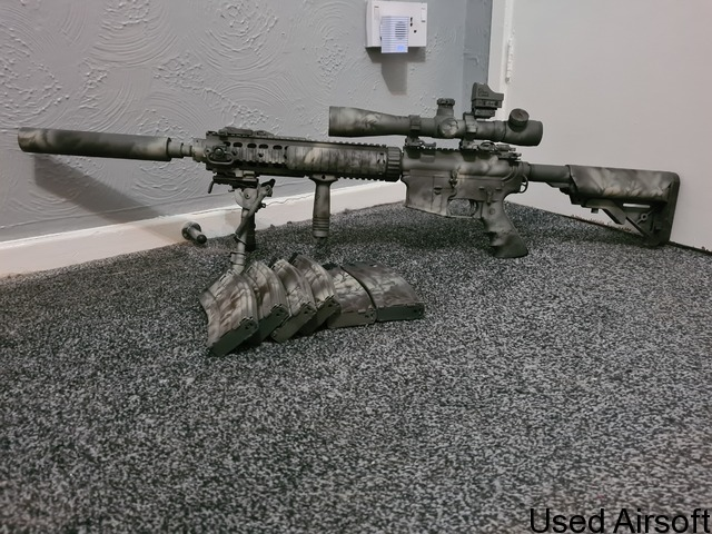 We m4 mk12 mod1 spr ( gas blow back ) - 1