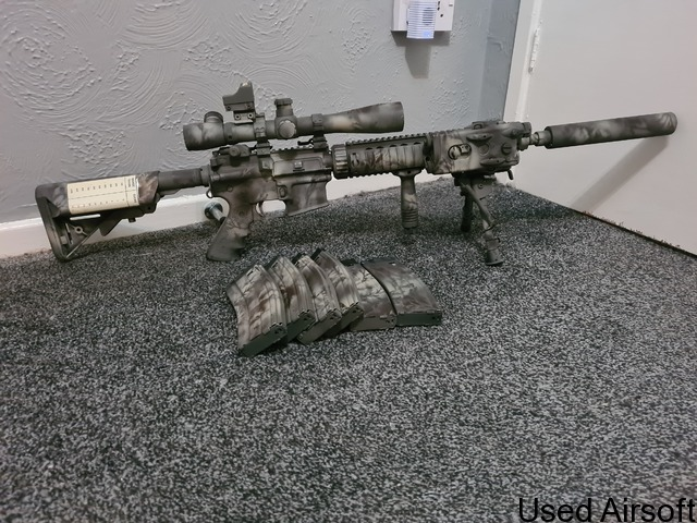 We m4 mk12 mod1 spr ( gas blow back ) - 2