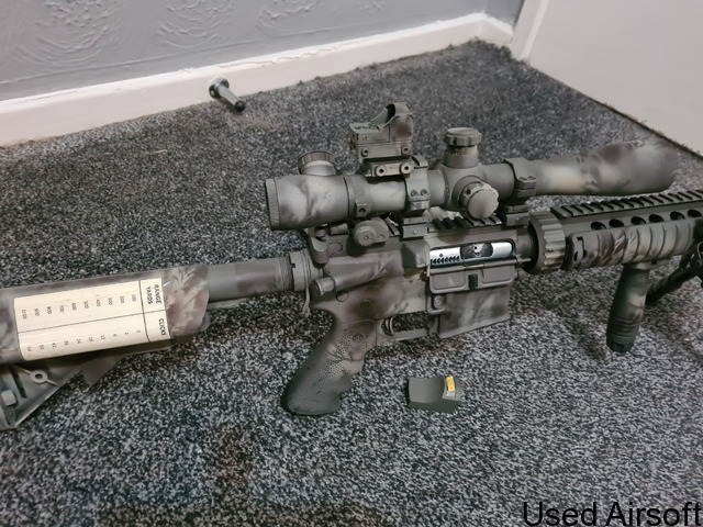 We m4 mk12 mod1 spr ( gas blow back ) - 4