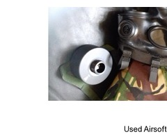 Army gas mask British s10 respirator kit 3mm lenses