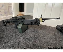 A&K M249 Mk1 AEG Machine Gun