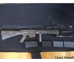 Sr25 DMR 4 magazines 450fps