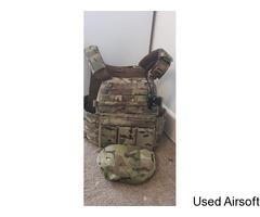 Warrior Assualt System DCS Plate Carrier Multicam