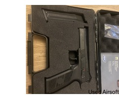 CZ P-09 6mm has blowback airsoft pistol