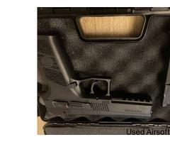 CZ P-09 6mm has blowback airsoft pistol - Image 4