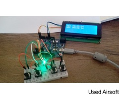 Button DOMINATION Timer for Airsoft