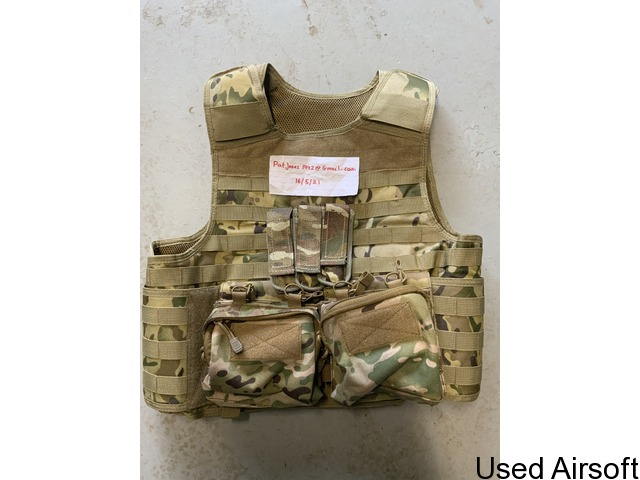 Nuprol PMC plate carrier with pouches - 1
