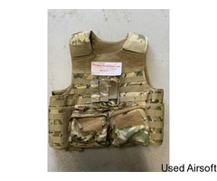 Nuprol PMC plate carrier with pouches
