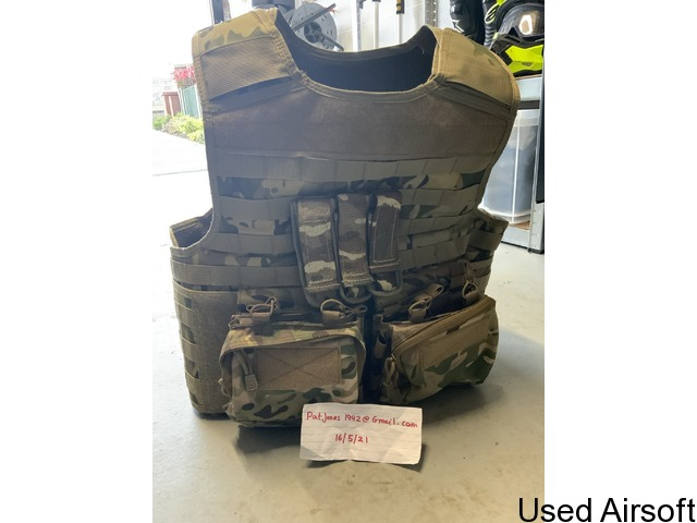 Nuprol PMC plate carrier with pouches - 2
