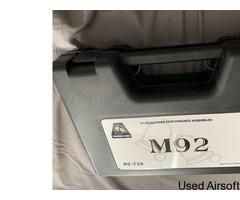 M92 gas blowback pistol