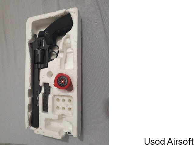 """Dan Wesson 8"""" Black - .177 Pellet Air Pistol - 1"""