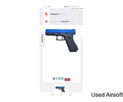 Gas Glock 17 BB Gun Replica