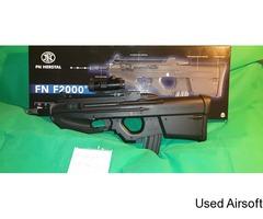 Cyber Gun FN F2000 Airsoft Rifle, Black