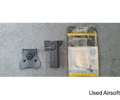 Amomax Poly Holster for Hi-Capa + Molle attachment