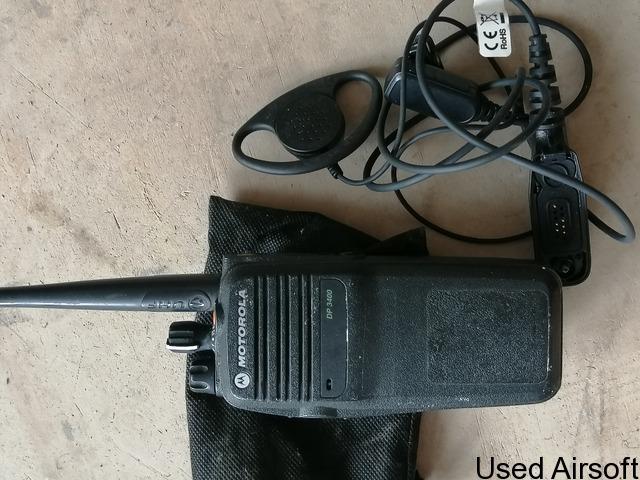 UHF Motorola dp3400 (X4) - 2