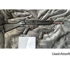 G&G TGM A2 ETU and Cyber Gun 1911 - Image 1