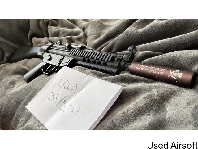 G&G TGM A2 ETU and Cyber Gun 1911 - 2