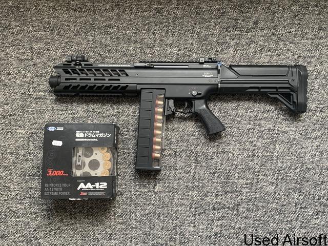 SGR-12 fully auto shotgun. - 1