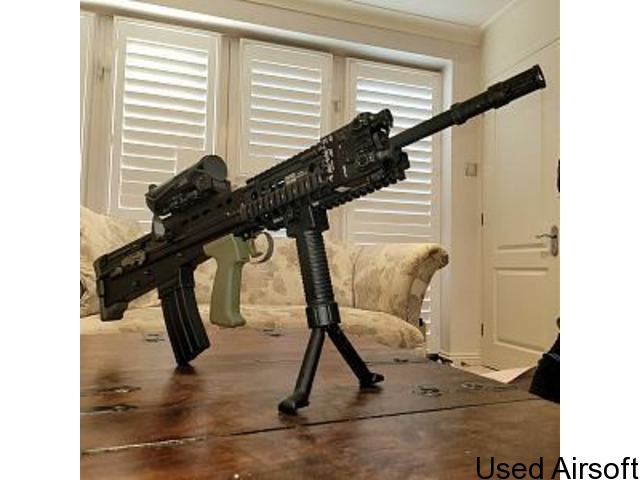 WE L85A2 / SA80 AS NEW UPGRADED - PRICE DROP - 1