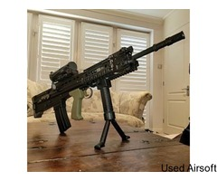 WE L85A2 / SA80 AS NEW UPGRADED - PRICE DROP