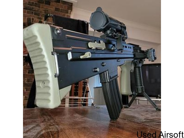 WE L85A2 / SA80 AS NEW UPGRADED - PRICE DROP - 3