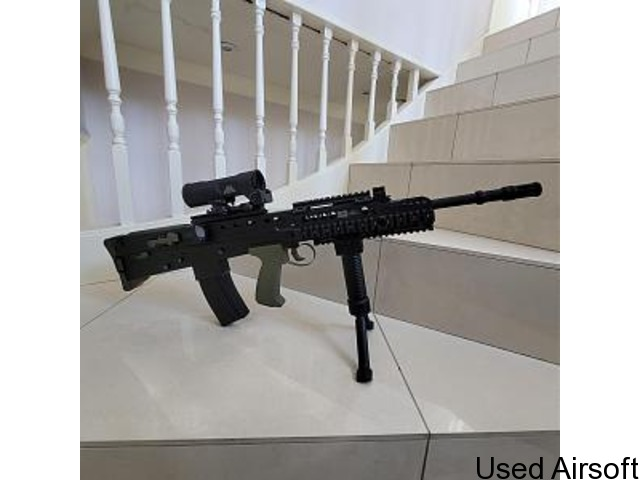 WE L85A2 / SA80 AS NEW UPGRADED - PRICE DROP - 4