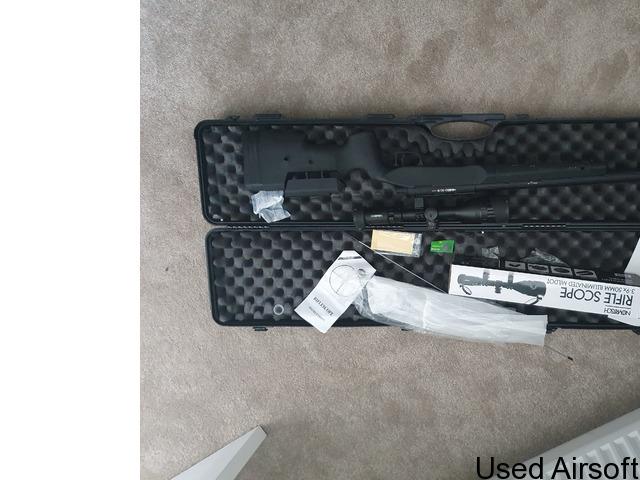 Novritch SSG10 W/ Scope - 1