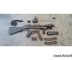 Tokyo Marui MP5A4 AEP with upgrades