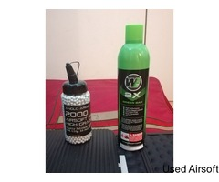 Anglo Arms Airsoft BB's & WE 2x Green Gas