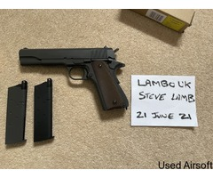 AA 1911 new with spare mag.