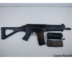 GHK 553 GBBR Version 2 (SIG SAUER Markings Edition) Great Condition with Upgraded internals