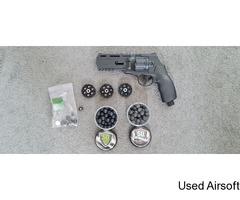 (PAINTBALL) Umarex T4E TR50 Paintball Revolver - Black, 7.5j