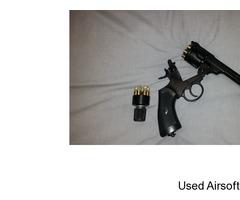 Co2 Webley Revolver