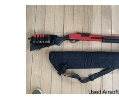 M870 railed gas shotgun