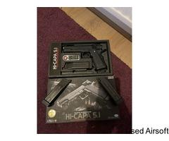 TM Hi-Capa 5.1 - New in box/Never used + 3 TM Mags