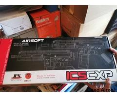 ICS M4 CXP QD4 Sport Line AEG Airsoft Rifle (Black)