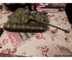 Rc battle tank 1/16 scale