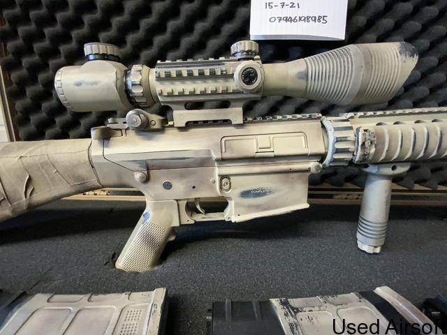 Upgraded G&G GR25 DMR lone survivor custom paint - 4